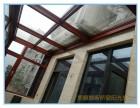 洛阳露台阳光房设计,钢结构楼梯,铝合金门窗阳光房施工