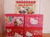 sanrio凯蒂猫 hello kitty 轻松小熊 折叠收纳箱、整理箱