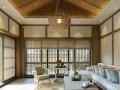 300平米别墅中式风格回归自然南宁中庭装饰