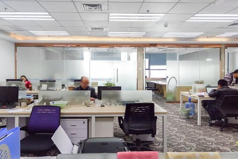 高新园站泰邦科技大厦2+1小户型急租 采光好高使用率 带家私