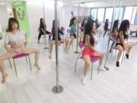 绵阳钢管舞培训 钢管舞成人舞蹈班 聚星职业舞蹈培训学校