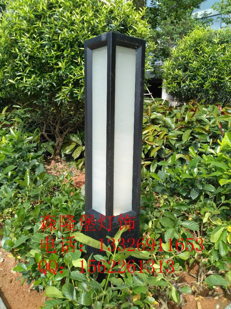 别墅花园景观草坪灯庭院灯喷漆磨砂草坪灯仿云石草坪灯中山定制