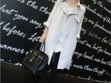 小宜**定制 2014春款女装新款 经典长风衣 薄款外套