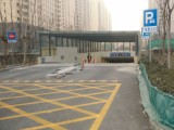 专业承接道路划线 冷喷划线 热熔标线 车位划线 厂区道路划线