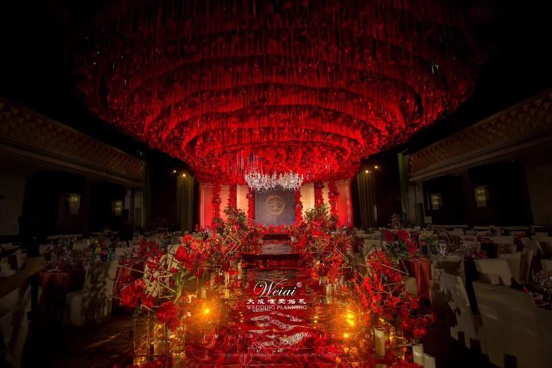 长乐礼堂婚礼婚庆布置,长乐婚礼策划
