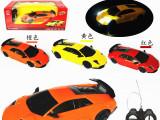 厂家直销124遥控车带灯光全比例遥控车模型儿童玩具批发