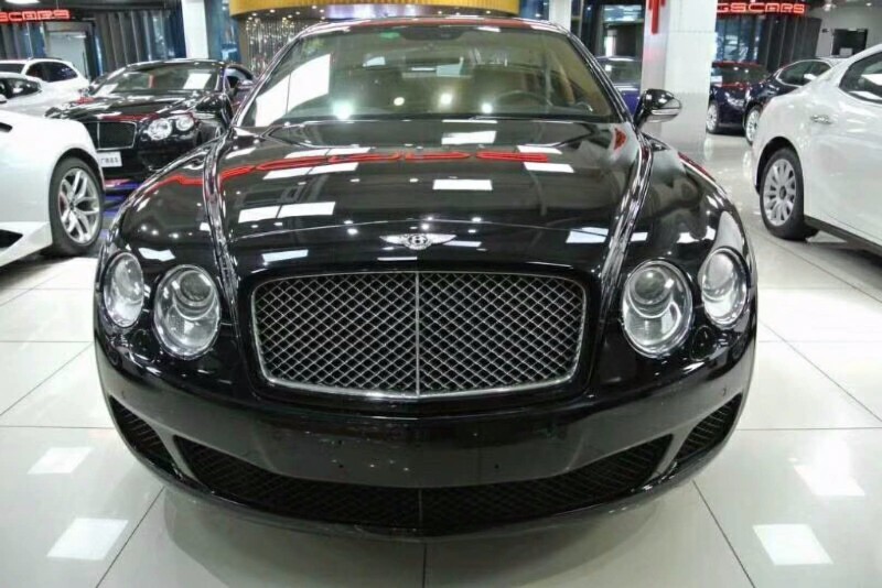 2012款宾利飞驰限量版 不过户特价89万