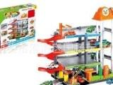 轨道停车场/停车场玩具/停车场组合/升降