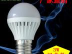 中山厂家直销 LED塑料球泡灯 室内家用节能 高亮5730