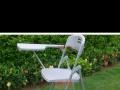 新闻椅,可折叠,自带小桌板