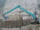 上海静安区挖掘机租赁混凝土破碎渣土外运清理