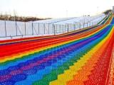 喀什滑道制作 網紅七彩滑道出租 彩虹滑道租賃 七彩滑道制作