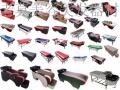 柳州莫氏美容美发器材生产厂家批发美理发椅洗头床大工椅镜台