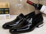 现货批发V.DONPAUL外贸出口 牛漆皮尖头 男装皮鞋 一件代