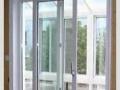 断桥铝门窗 阳光房 封阳台 办公玻璃隔断 隐形纱窗