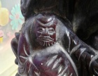 十八罗汉贺寿紫檀木雕 真心寻有缘的你