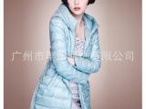 杭州品牌折扣女装时尚欧美女式羽绒服一手货源尾货批发---朗曼笛