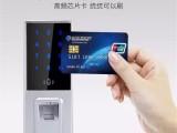 上梅林安防监控安装维修五和玻璃门安装刷卡密码门禁安装