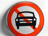 交通反光标志牌圆形限速限高禁止提示牌 厂