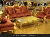 定制欧式沙发 新古典后现代沙发 布艺沙发1+2+3 实木沙发皮艺