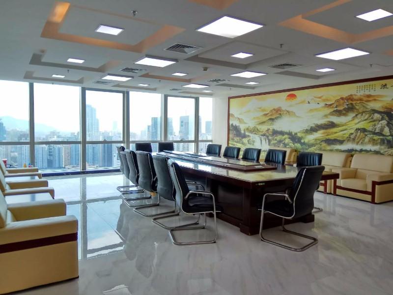 腾讯主楼高区湖景整层 科兴科学园 1080平新豪装 视野开阔