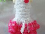 厂家直销新款儿童蛋糕裙 小女孩粉色蛋糕裙 儿童公主裙混批