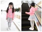 湖南哪有童装批发厂家直销最低价秋冬儿童套装打底衫批发保证质量