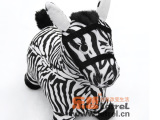 乐哲品牌直销可定制出口加厚PVC绒布充气马儿童跳跳马玩具