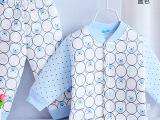 憨豆龙 冬季婴儿保暖内衣套装 儿童加厚内衣裤
