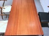 原生态实木大班桌安哥拉苏木大板餐桌茶桌办公桌