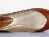 外贸原单超舒适羊皮单鞋尖头低跟欧美最新款女单鞋
