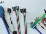 厚普USB3.0电脑数据线 USB3.0转2.0机箱面板线