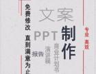 专业文案代写 PPT制作商业计划书