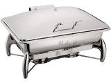 正品 8.5L 长方形感应式不锈钢自助餐炉 保温布菲炉 酒店餐具