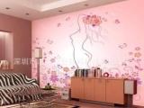 罗湖客厅电视机背景墙贴 个性墙纸来料加工 家居墙纸定做
