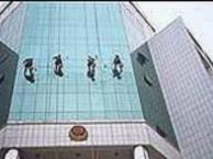 东莞厚街高空外墙清洗,高空玻璃幕墙清洗,铝塑板清洗