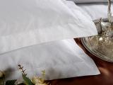 百年新业酒店布草床上用品全棉提花枕套厂家