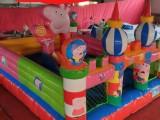大型充氣玩具 小型充氣滑梯 新款小豬充氣城堡充氣大滑梯