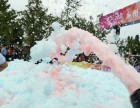 海口周边户外活动派对喷射式泡沫机 带桶落地式3000W泡沫机