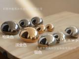 鑫再兴 金属光面蘑菇头型纽扣大衣扣风衣扣双排钮扣银色黑色金色