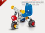 乐的-金属拼装积木 DIY儿童益智玩具 地摊热卖玩具 模型玩具