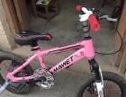 出台粉红色儿童自行车