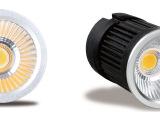 工程照明LED天花投射灯 室内装饰COB射灯 单珠led射灯工厂