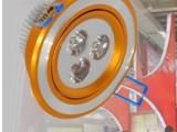 批发一体化3W大功率LED天花灯/拉丝天花灯/黄色天花灯/质保2