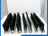 【厂家供应】条型防尘刷 尼龙条刷 门刷 来样定做 量大从优