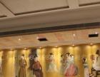 大型工装餐饮娱乐场所墙绘彩绘