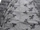 厂家直销 DIY花边满幅 雪纺布满幅 欧根纱蝴蝶花边满幅 剪网花