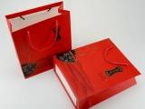新款环保牛皮纸茶叶手提袋 加厚 礼品袋包装手拎袋批发 红茶通用