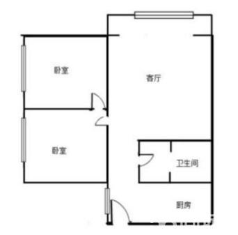 惊爆!平福巷小区精装修2室,只需1500元,抢租中平福巷