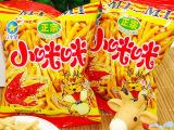 批发膨化食品虾条小零食3.5kg/箱日生星香辣味咪咪虾条 一手货